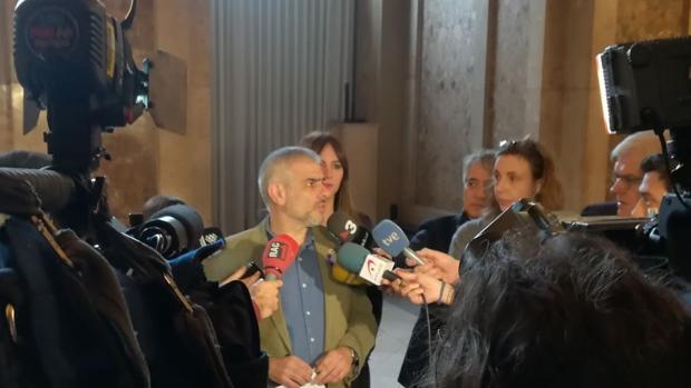 El portavoz de Ciudadanos en el Parlament