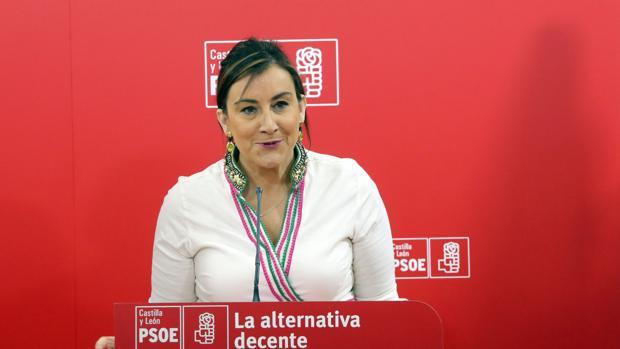 Ana Sánchez, secretaria de Organización del PSOE de Castilla y León