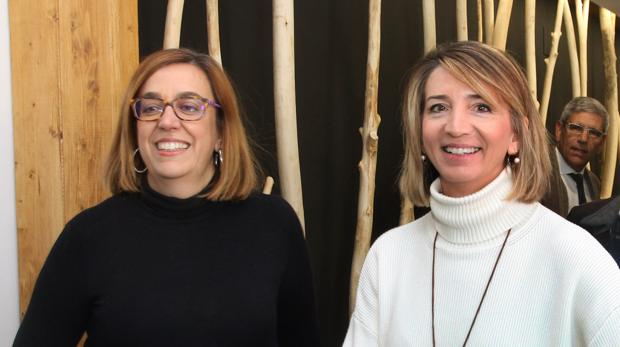La presidenta de la Diputación de Palencia, Ángeles Armisén, y la consejera de Familia e Igualdad de Oportunidades, Alicia García, dos de las encuestadas por ABC