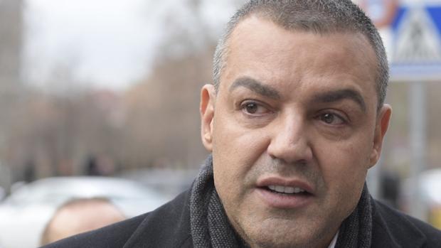 Miguel Ángel Flores, a su salida de la Audiencia Provincial