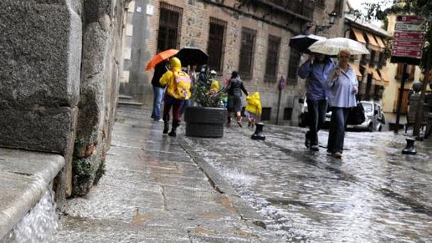 Este viernes se esperan lluvias de hasta 40 y 60 litros por metro cuadrado en Toledo