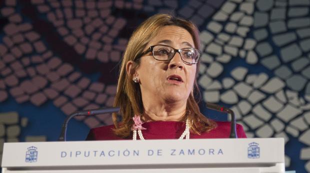 Mayte Martín Pozo, presidenta de las Diputación de Zamora (PP)