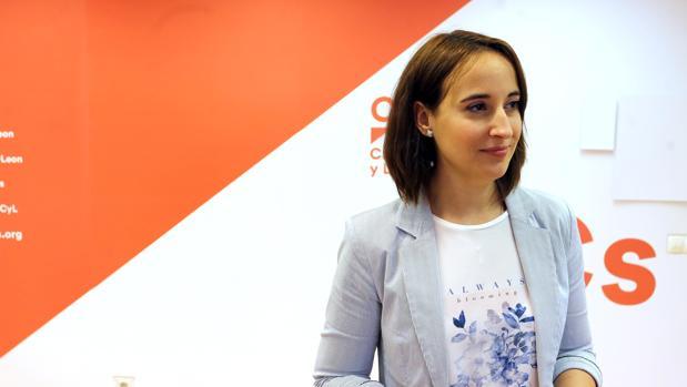 Pilar Vicente, secretaria de relaciones institucionales de Ciudadanos
