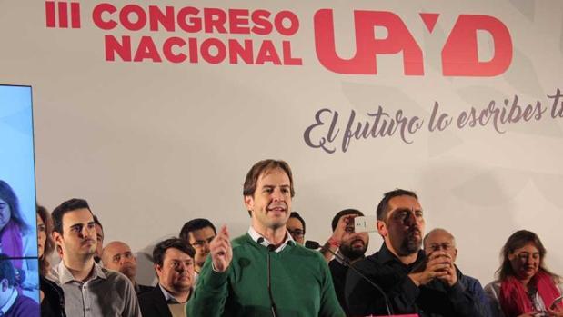 Dirigentes nacionales de UPyD en su congreso