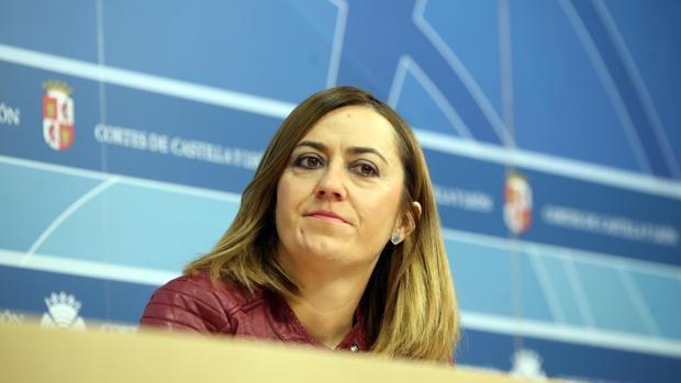 Virginia Barcones, vicesecretaria del PSOE en Castilla y León