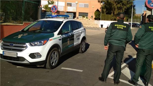Efectivos de la Guardia Civil en la provincia de Alicante en una imagen de archivo