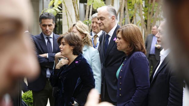 Imagen de Pons y Bonig, tomada este jueves en Valencia