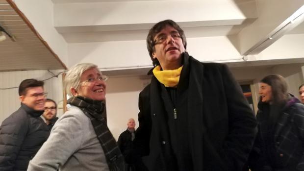 Carles Puigdemont, la semana pasada, en Bruselas