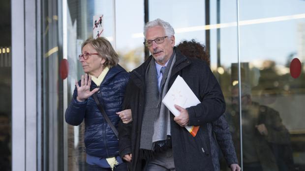 El exjuez Santiago Vidal, el pasado febrero