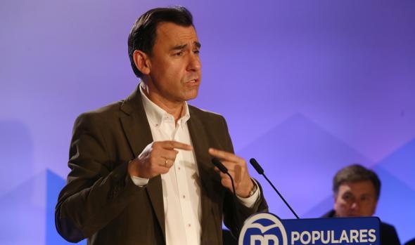 Fernando Martínez-Maillo en el acto celebrado por el PP en Segovia