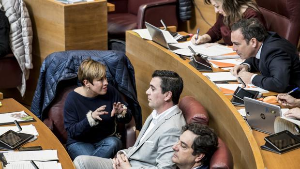 Diputados de Ciudadanos en las Cortes Valencianas