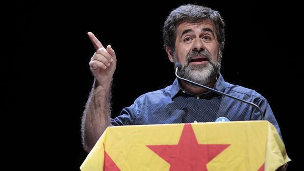 Jordi Sànchez, en un encuentro electoral