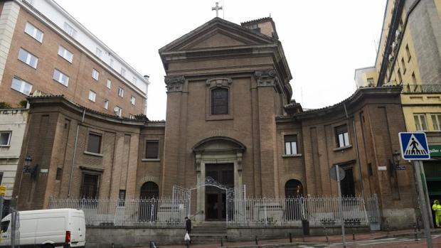 Fachada de la parroquia de San Marcos