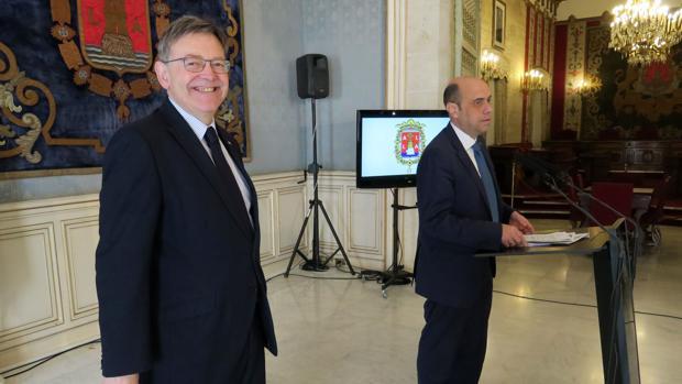 Ximo Puig y Gabriel Echávarri, en una imagen de archivo