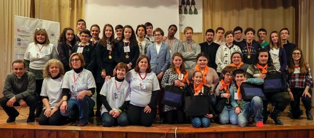 Participantes y organizadores en los primeros Relicatgames de Valladolid