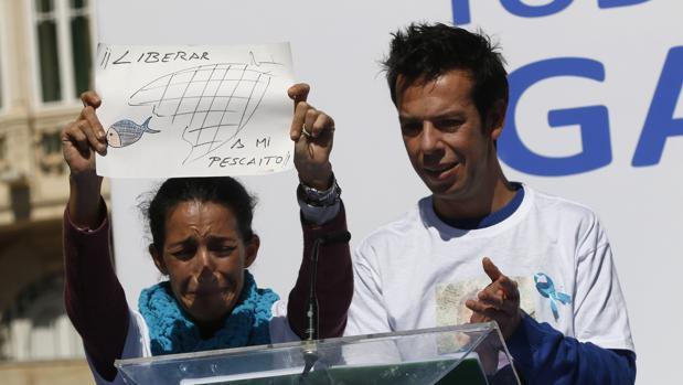 Patricia Ramírez y Ángel Cruz, los padres de Gabriel, el menor desaparecido hace once días en Níjar