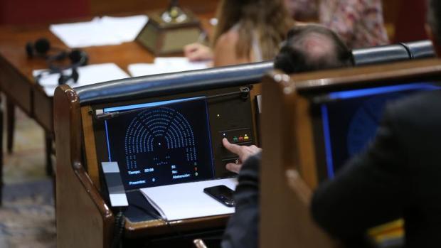 Pleno del Congreso, en mayo, sobre el Proyecto de Ley de Presupuestos Generales del Estado para 2017