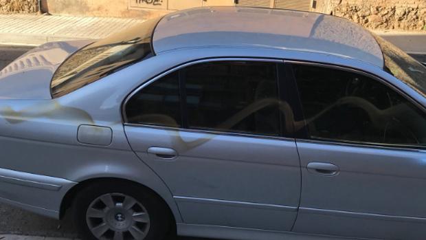 Imagen del coche pintado de Girauta