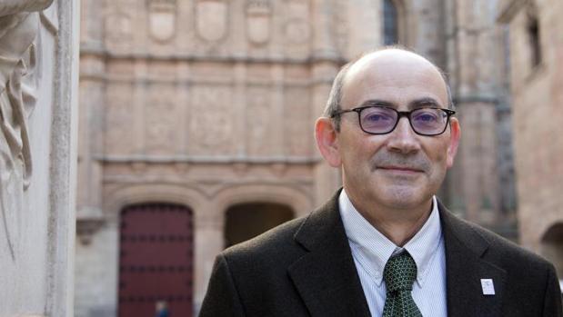 El vicererctor de profesorado de la Universidad de Salamanca, José María Díaz