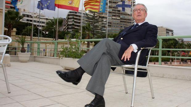 Imagen de Miguel Barceló tomada en el año 2008 durante una entrevista con ABC