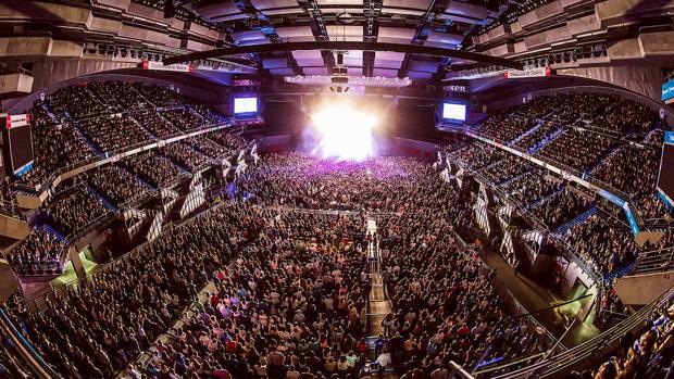 El Wizink Center, abarrotado para un concierto