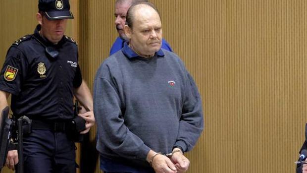 Antonio Ojeda, «El Rubio», en un juicio celebrado en 2016