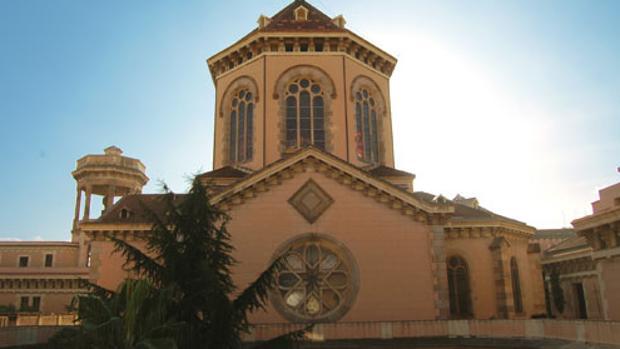 Fachada del Seminario Conciliar de Barcelona