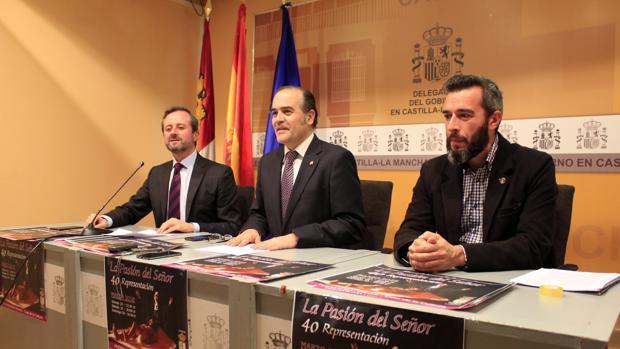 Mariano Alonso, José Julián Gregorio y Vidal Fernández