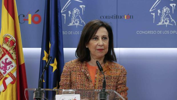 La portavoz del PSOE, Margarita Robles