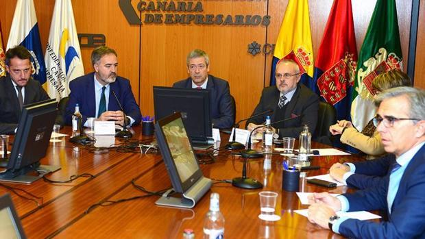 Encuentro de Redexis con la patronal de Las Palmas