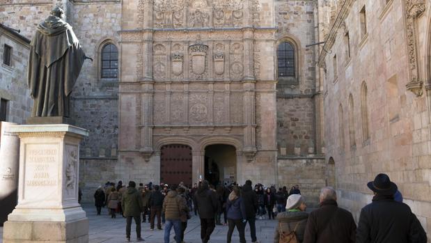 Fachada de la Universidad de Salamanca