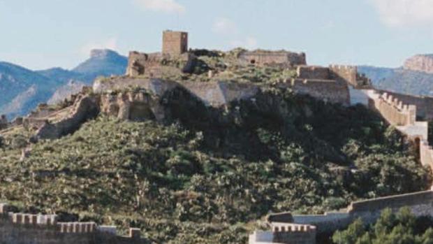 Vista panorámica del castillo de Sagunto