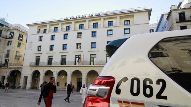 Imagen de archivo de la Audiencia Provincial de Alicante