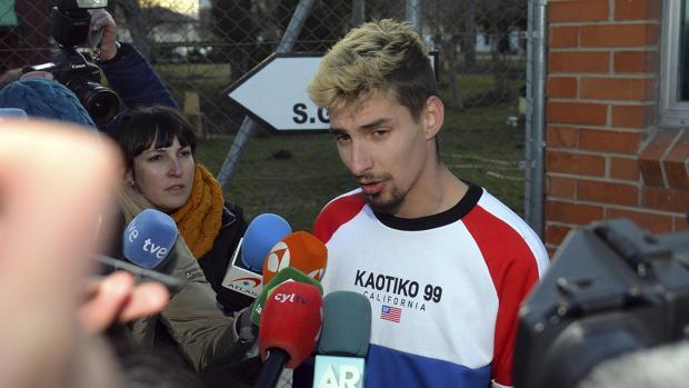 Carlos Cuadrado, uno de los exfutbolístas investigados