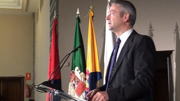 Agustín Manrique de Lara, presidente de la CCE