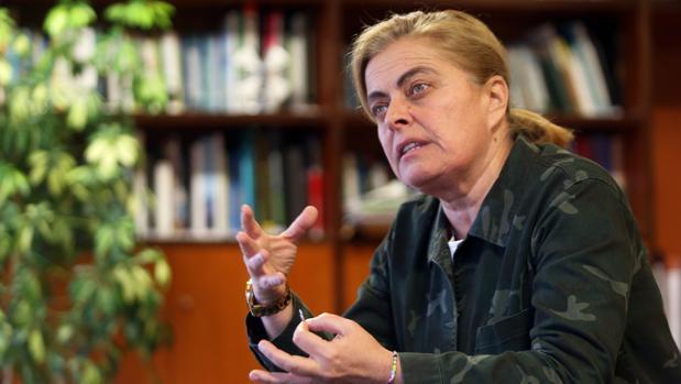 Ana María Díaz, directora xeral e Patrimonio Natural