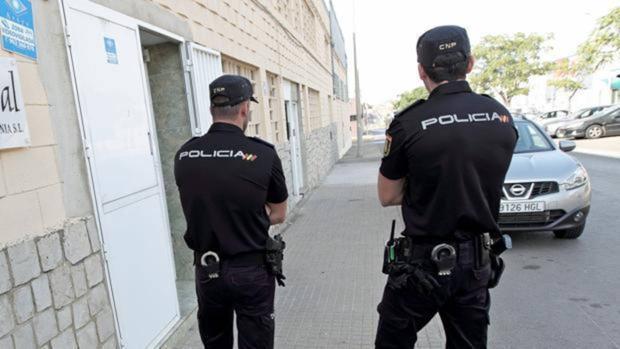 Una pareja de la Policía Nacional, en una imagen de archivo