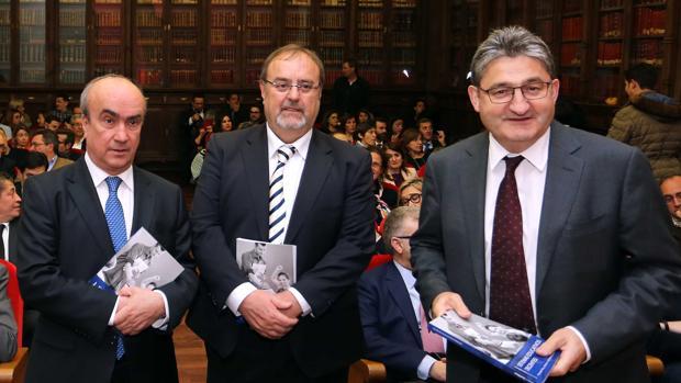 Mariano Jabonero, Fernando Rey y Óscar Campillo, presentan un libro sobre el sistema educativo regional