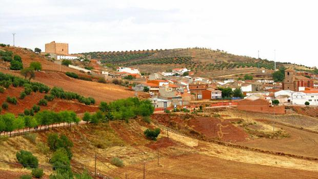 Vista panorámica de la localidad de Terrinches (Ciudad Real)