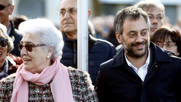 Xulio Ferreiro durante un acto este miércoles en La Coruña