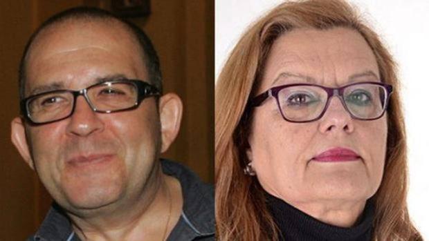 Alfredo Allúe y Ángela Figueruelo