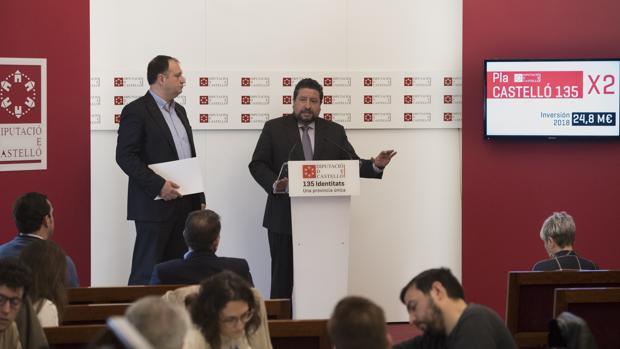 El presidente de la Diputación de Castellón
