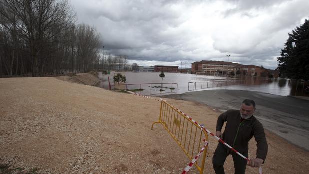 Inundaciones en Lerma por el desborde del río Arlanza, en el año 2016