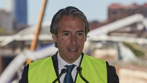 El ministro de Fomento Íñigo de la Serna en Barcelona