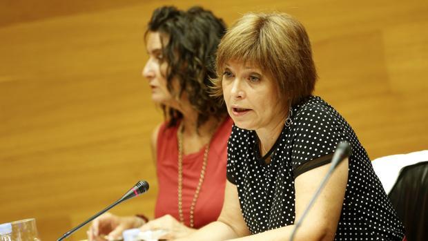 Empar Marco, directora de la Corporació Valenciana de Mitjans de Comunicació, en una foto de archivo