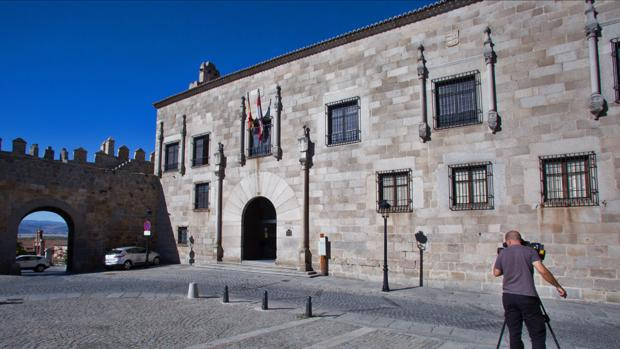 Exterior d ela Audiencia Provincial de Ávila