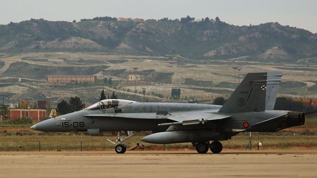 Los pilotos forman parte del Ala-15 del Ejército del Aire