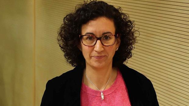 La dirigente de ERC Marta Rovira