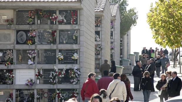Imagen de archivo del zaragozano cementerio de Torrero