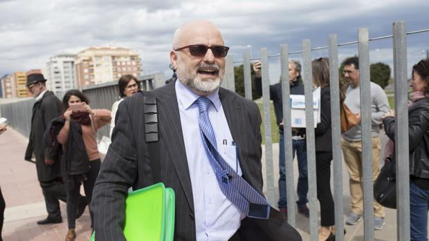 Coté, durante el juicio en Castellón